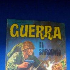 Tebeos: GUERRA - Nº29 - EL SARGENTO - EDITORIAL VILMAR. Lote 159475302