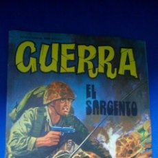 Tebeos: GUERRA - Nº29 - EL SARGENTO - EDITORIAL VILMAR. Lote 159475346