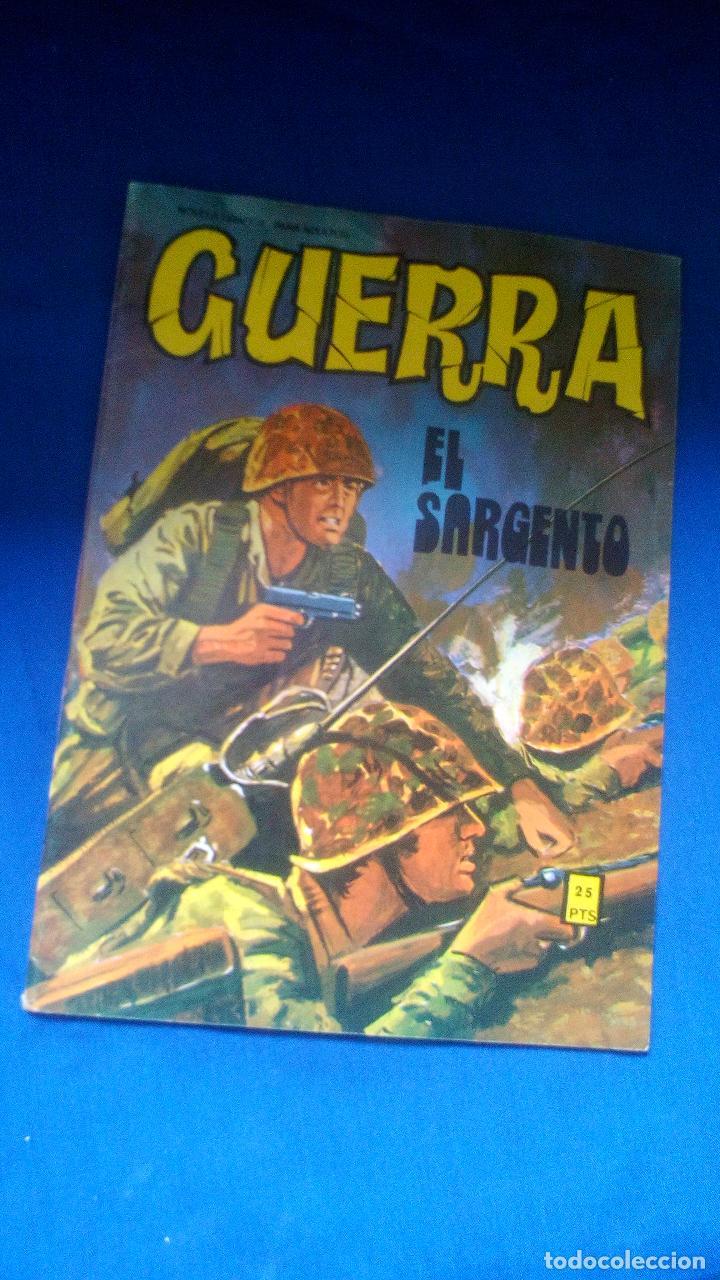 GUERRA - Nº29 - EL SARGENTO - EDITORIAL VILMAR (Tebeos y Comics - Tebeos Otras Editoriales Clásicas)