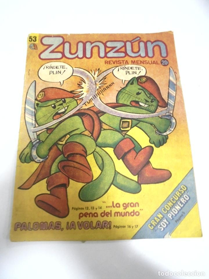 CUBA. TEBEO ZUNZÚN. Nº 53. ENERO 1986 (Tebeos y Comics - Tebeos Otras Editoriales Clásicas)