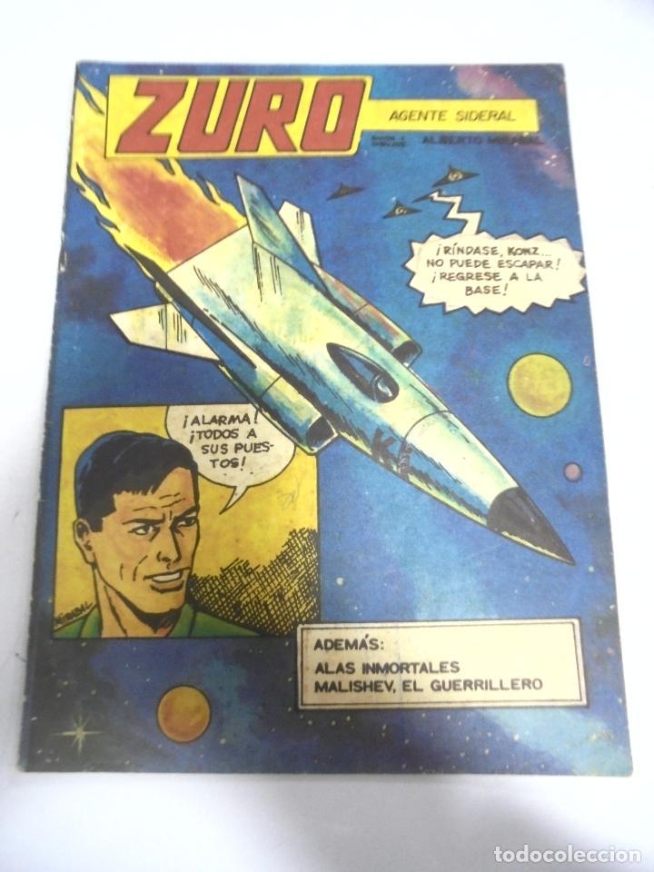 CUBA. TEBEO ZURO AGENTE SIDERAL. EDITORIAL ORIENTE 1986 (Tebeos y Comics - Tebeos Otras Editoriales Clásicas)