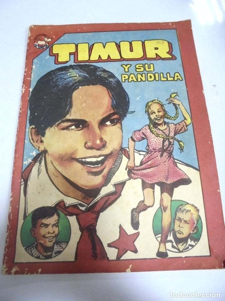 CUBA. TIMUR Y SU PANDILLA. COLECCION PUCHO. EDITORA ABRIL. 1986 (Tebeos y Comics - Tebeos Otras Editoriales Clásicas)