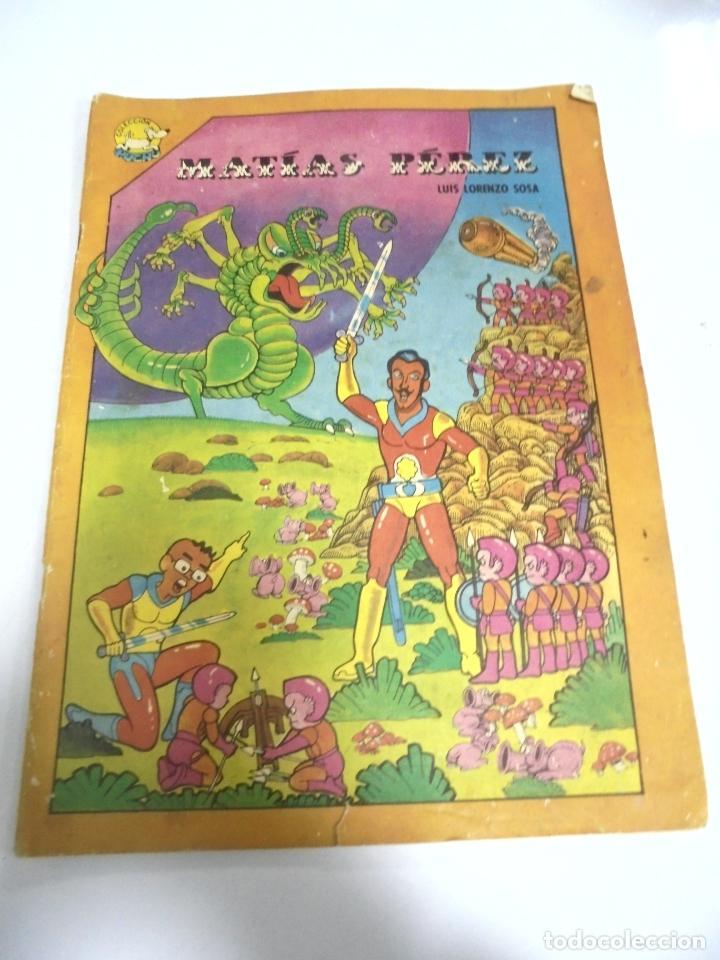 CUBA. TEBEO MATIAS PEREZ. LUIS LORENZO SOSA. 1986. EDITORIAL ABRIL (Tebeos y Comics - Tebeos Otras Editoriales Clásicas)