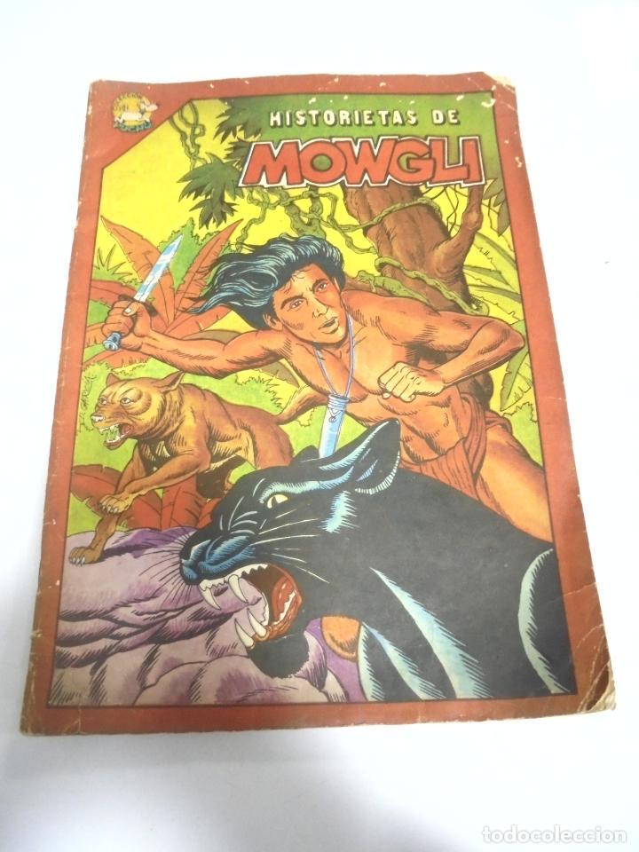CUBA. HISTORIETAS DE MOWGLI. COLECCION PUCHO. EDITORA ABRIL 1986 (Tebeos y Comics - Tebeos Otras Editoriales Clásicas)