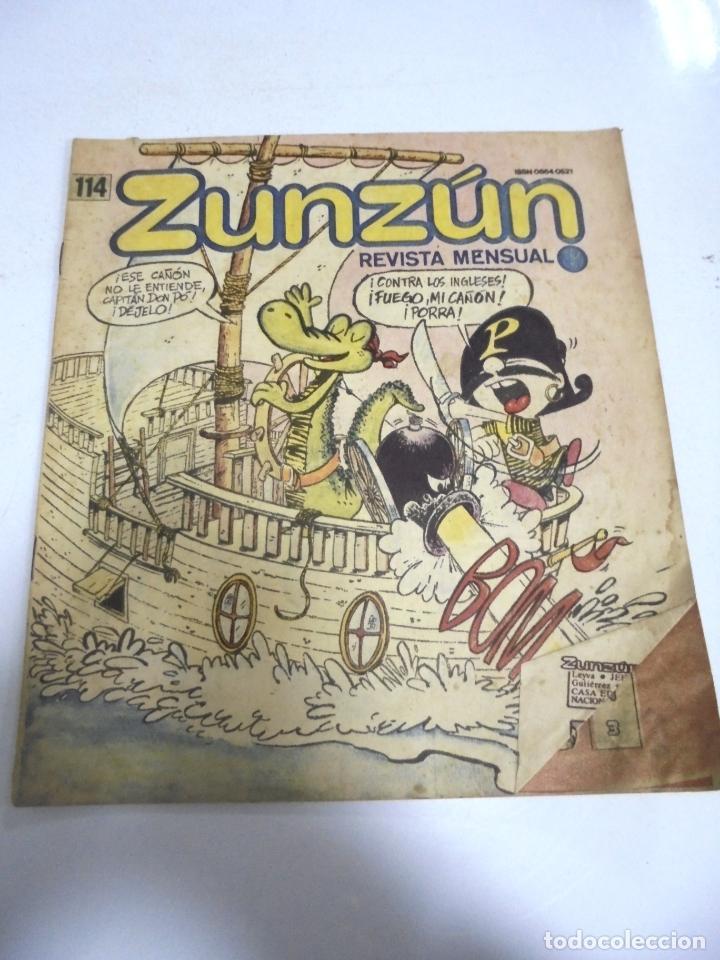 CUBA. TEBEO ZUNZÚN. Nº 114. ABRIL 1992 (Tebeos y Comics - Tebeos Otras Editoriales Clásicas)