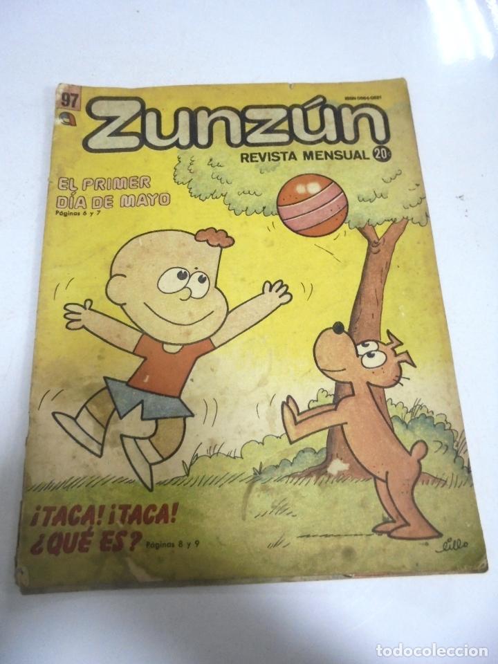 CUBA. TEBEO ZUNZÚN. Nº 97. ABRIL 1990 (Tebeos y Comics - Tebeos Otras Editoriales Clásicas)