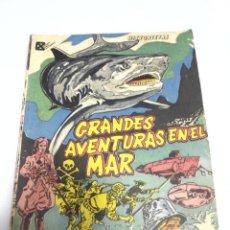 Tebeos: CUBA. HISTORIETAS GRANDES AVENTURAS EN EL MAR. EDITORIAL PABLO DE LA TORRIENTE. Lote 277087218