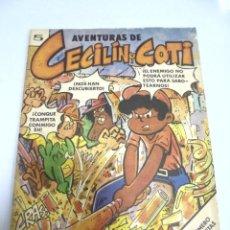 Tebeos: CUBA. AVENTURAS DE CECILIN Y COTI. EDITORIAL ORIENTE. 1977. . Lote 159505958