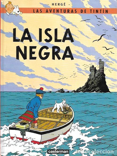 La aventuras de tintín. la isla negra. casterma - Vendido