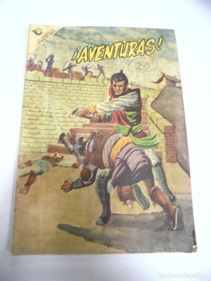 CUBA. TEBEO. ¡AVENTURAS!. Nº 20. ENERO 1967. EDICIONES EN COLORES (Tebeos y Comics - Tebeos Otras Editoriales Clásicas)