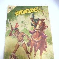 Tebeos: CUBA. TEBEO. ¡AVENTURAS!. Nº 19. ENERO 1967. EDICIONES EN COLORES. Lote 159610858