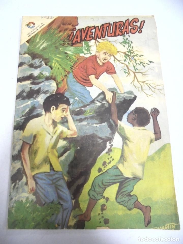 CUBA. TEBEO. ¡AVENTURAS!. Nº 22. MARZO 1967. EDICIONES EN COLORES (Tebeos y Comics - Tebeos Otras Editoriales Clásicas)