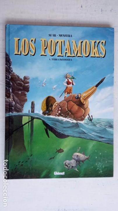 LOS POTAMOKS Nº 1 TIERRA INCOGNITA - SFAR . MUNERA - GLÉNAT 2001 (Tebeos y Comics - Tebeos Otras Editoriales Clásicas)