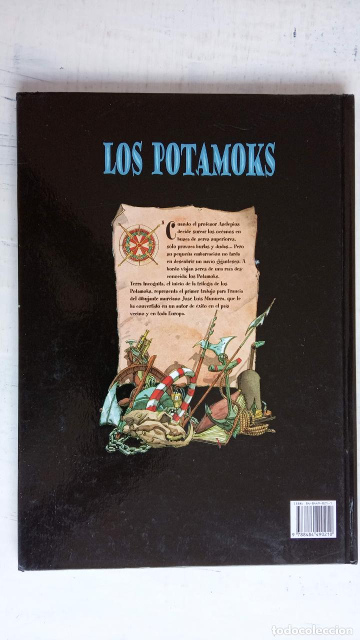 Tebeos: LOS POTAMOKS Nº 1 TIERRA INCOGNITA - SFAR . MUNERA - GLÉNAT 2001 - Foto 3 - 160185606