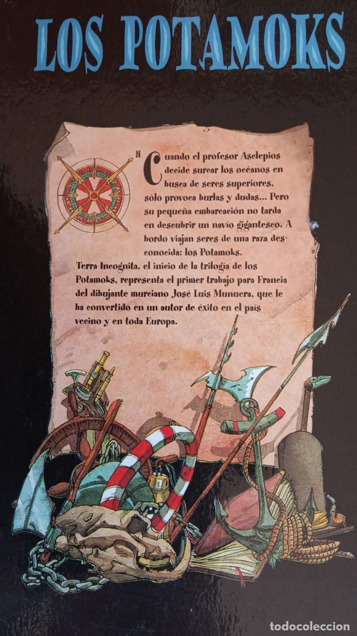 Tebeos: LOS POTAMOKS Nº 1 TIERRA INCOGNITA - SFAR . MUNERA - GLÉNAT 2001 - Foto 6 - 160185606