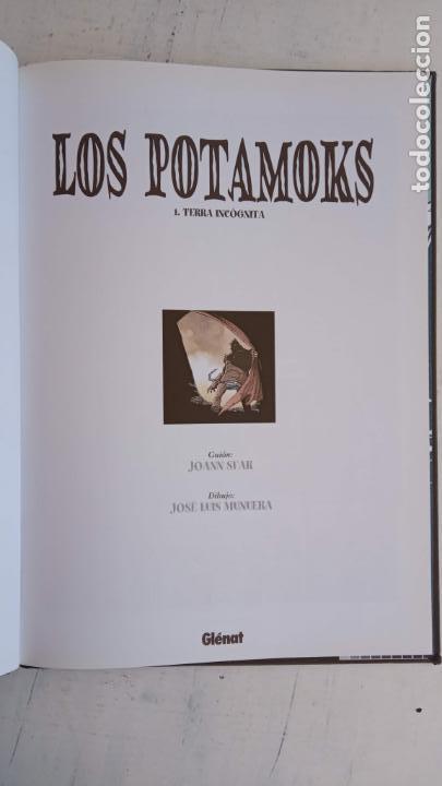 Tebeos: LOS POTAMOKS Nº 1 TIERRA INCOGNITA - SFAR . MUNERA - GLÉNAT 2001 - Foto 8 - 160185606