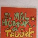 Tebeos: EL MAL HUMOR DE TABARÉ - SERIE HUMOR AL VIENTO - 1974 - 84 PGS 26 X 18 CMS.. Lote 160188354