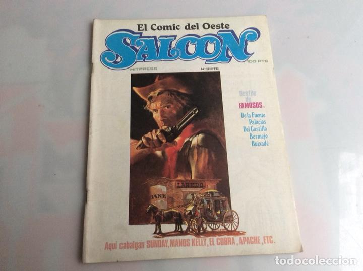 SALOON Nº 7 EL COMIC DEL OESTE (Tebeos y Comics - Tebeos Otras Editoriales Clásicas)
