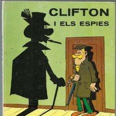 Tebeos: CLIFTON I ELS ESPIES, 1969, JAIMES LIBROS, MUY BUEN ESTADO. Lote 160404166
