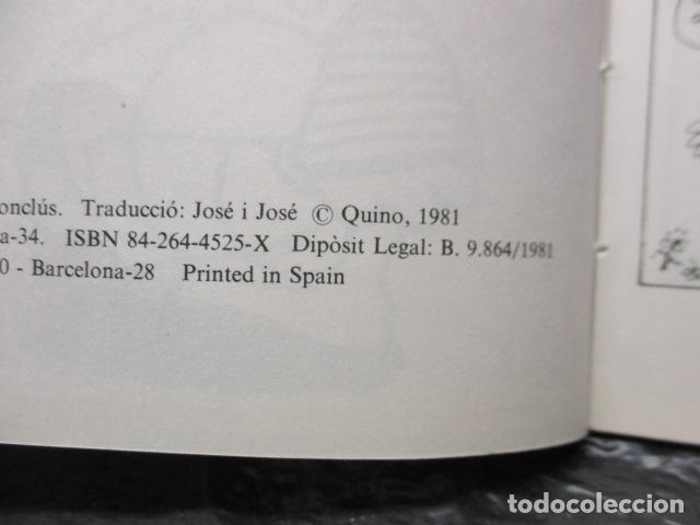 Tebeos: MIGUELITO, SERÀS UN TIPUS IMPORTANT! - QUINO - Foto 9 - 160520318