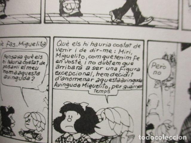 Tebeos: MIGUELITO, SERÀS UN TIPUS IMPORTANT! - QUINO - Foto 12 - 160520318