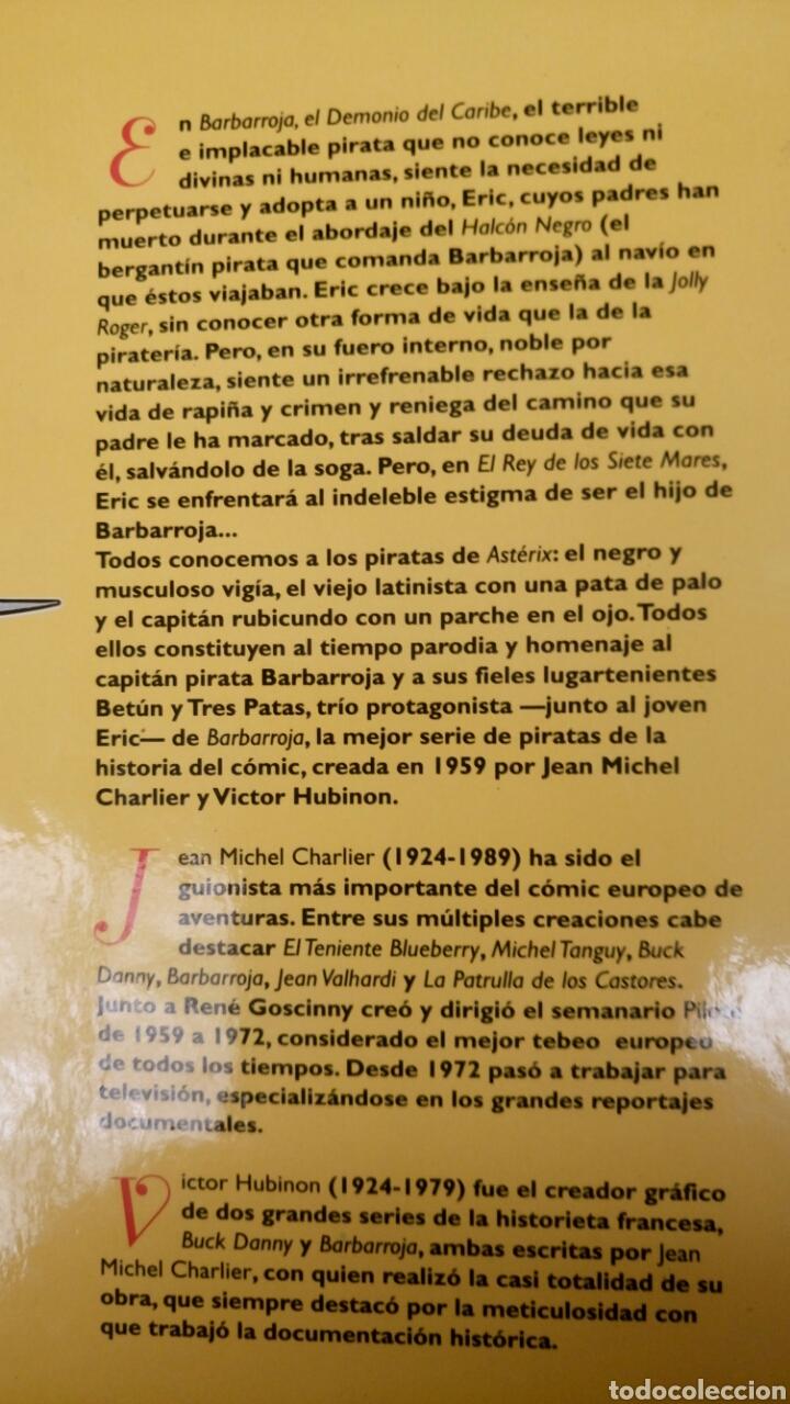 Tebeos: Barbarroja 2, el Rey de los siete mares. Glenat. - Foto 3 - 160679716