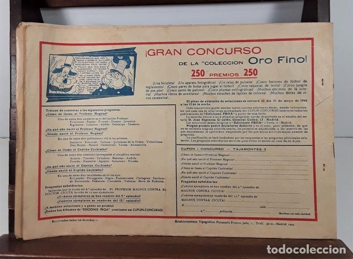 Tebeos: TAJAMONTES, EL CABALLERO INVENCIBLE. TIP. F. FRANCO-JAÉN. MADRID. 1944. - Foto 6 - 160976414
