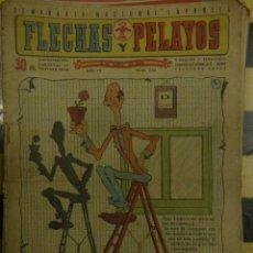 Tebeos: FLECHAS Y PELAYOS. Lote 161419166