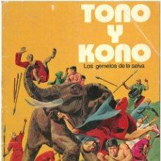 Tebeos: TONO Y KONO III. LOS GEMELOS DE LA SELVA. COLECCION LIBRIGAR MICO Nº 19. C-34. Lote 161541430