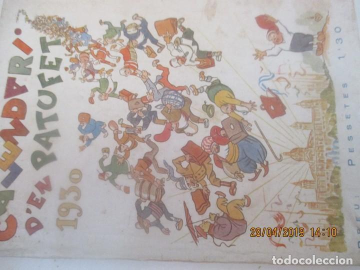 CALENDARI PATUFET 1930 (Tebeos y Comics - Tebeos Clásicos (Hasta 1.939))