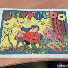 Tebeos: BERTOLDO CUNETO ITALIANO (ORIGINAL 3 PINGÜINOS) (COIM27). Lote 161720062