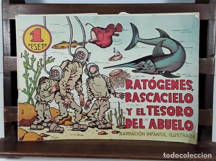 RATÓGENES, RASCACIELO Y EL TESORO DEL ABUELO. MADRID. SIGLO XX. (Tebeos y Comics - Tebeos Otras Editoriales Clásicas)