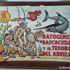 Tebeos: RATÓGENES, RASCACIELO Y EL TESORO DEL ABUELO. MADRID. SIGLO XX.. Lote 162171774