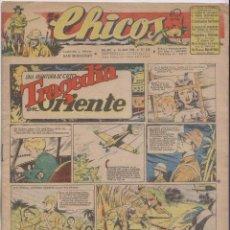 Tebeos: CHICOS. Nº 349. 18 ABRIL 1945. SAN SEBASTIÁN. Lote 162421886