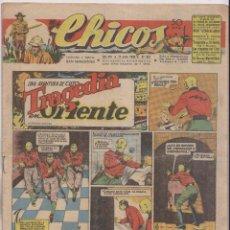 Tebeos: CHICOS. Nº 357. 11 DE JULIO 1945. SAN SEBASTIÁN . Lote 162446194