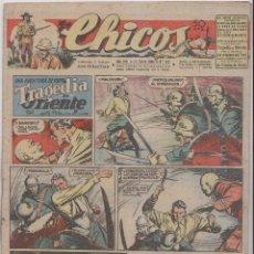 Tebeos: CHICOS. Nº 372. 21 ENERO 1946. SAN SEBASTIÁN . Lote 162448514