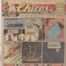 Tebeos: CHICOS. Nº 376. 10 MARZO 1946. SAN SEBASTIÁN . Lote 162449238