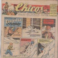 Tebeos: CHICOS. Nº 380. 7 ABRIL 1946. SAN SEBASTIÁN . Lote 162449510