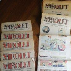 Tebeos: VIROLET 37 NÚMEROS (1927-1930). Lote 162580132