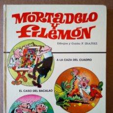 Tebeos: ASES DEL HUMOR: MORTADELO Y FILEMÓN N°2 (CÍRCULO DE LECTORES, 1974). 144 PÁGINAS A COLOR.. Lote 162757809