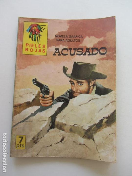 PIELES ROJAS ACUSADO EDITORIAL VILMAR CS170 (Tebeos y Comics - Tebeos Otras Editoriales Clásicas)