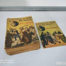 Tebeos: TEBEOS COMICS LA VUELTA AL MUNDO DE DOS PILLETES COLECCIÓN COMPLETA DE 46 NÚMEROS RAMON SOPENA. Lote 163527322