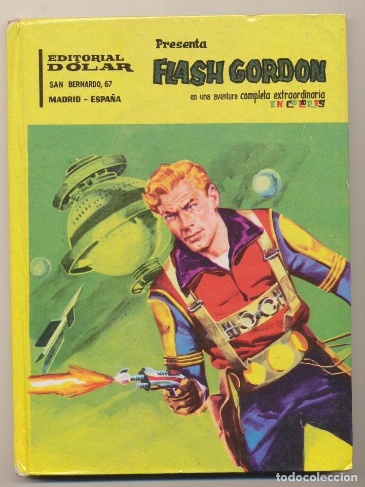 FLASH GORDON EN COLORES. DOLAR 1959. TAPAS DURAS, 96 PAGINAS (Tebeos y Comics - Tebeos Otras Editoriales Clásicas)