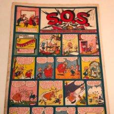 Tebeos: SOS S.O.S. 66. DE LOS ULTIMOS NUMEROS. VALENCIANA 1952. Lote 164575238