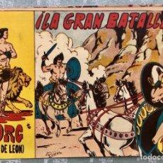 Tebeos: TORG HIJO DE LEON NUMERO 20. ORIGINAL. EDITORIAL ANDALUZA 1960. ¡LA GRAN BATALLA! DIBUJANTE ROLDAN. Lote 164986674