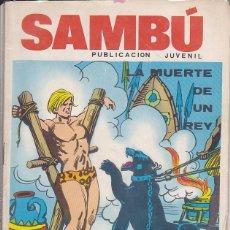 Tebeos: COMIC COLECCION SAMBU Nº 2 EDITORIAL VILMAR . Lote 165063726