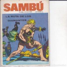 Tebeos: COMIC COLECCION SAMBU Nº 3 EDITORIAL VILMAR . Lote 165063862