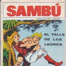 Tebeos: COMIC COLECCION SAMBU Nº 6 EDITORIAL VILMAR . Lote 165063958