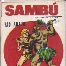 Tebeos: COMIC COLECCION SAMBU Nº 8 EDITORIAL VILMAR . Lote 165063990