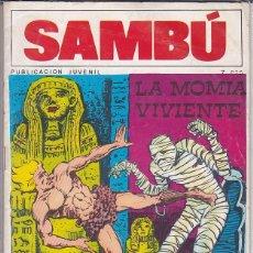Tebeos: COMIC COLECCION SAMBU Nº 16 EDITORIAL VILMAR . Lote 165064422